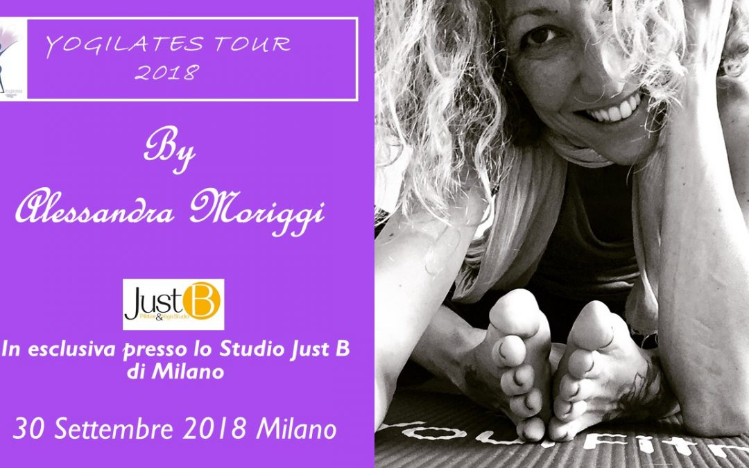 Yogilates on Tour con Alessandra Moriggi